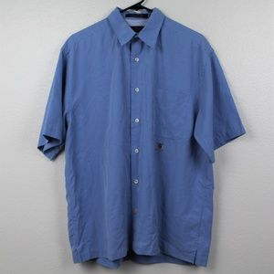 Tommy Hilfiger Button Down Shirt Blue
